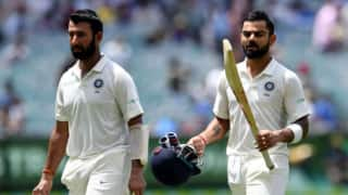 India vs Australia, 1st Test, Day-1, Dinner Report: Mayank Agarwal, Prithvi shaw throw wicket cheaply, Virat kohli, Cheteshwar Pujara at crease