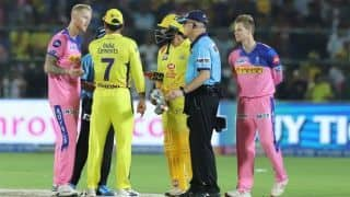 "Royals vs Super Kings: ""He was only seeking clarity,"" Fleming defends Dhoni's outburst"