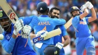 IND vs SL: Rohit Shamra, KL Rahul Century guide India to 7 wicket win over Sri Lanka