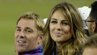 Warne, Hurley spark off affair rumours after reunion at Cricket All Stars match