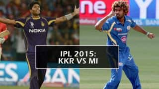 Defending Champions Kolkata Knight Riders face formidable Mumbai Indians in IPL 2015 opener