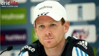 Eoin Morgan says difference in conditions from Manchester helped us