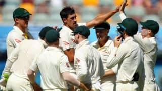 एशेज सीरीज: पहले टेस्ट को जीतने के लिए ऑस्ट्रेलिया के सामने 170 रनों का लक्ष्य