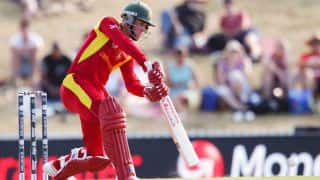 WI vs ZIM: Sean Williams dismissed for 76 by Jason Holder