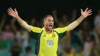 SL vs AUS: John Hastings 6-for restrict SL for 212