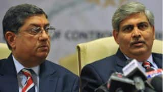 N Srinivasan asks Shashank Manohar for justification on ICC reform