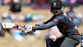 UAE look to settle things down following two quick dismissals against India in ICC Cricket World Cup 2015