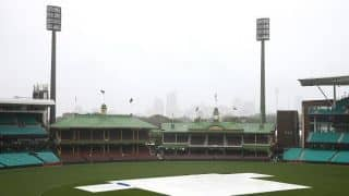 India vs CA XI: Sydney rainfall washes out day one of tour game