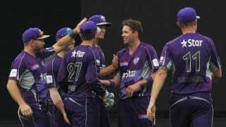 Cape Cobras vs Hobart Hurricanes CLT20 2014 Match 6 at Hyderabad