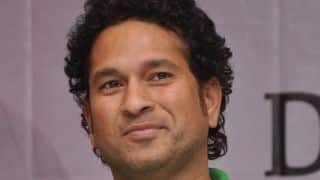 Sachin Tendulkar visits adopted village, urges for clean and healthy India