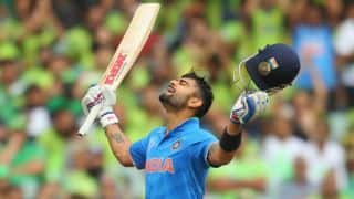 India win by 76 runs against Pakistan for record sixth time in ICC Cricket World Cup 2015