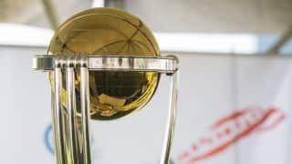 ICC World Cup to be promoted with 32-metre bat