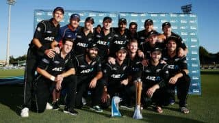 Photos: NZ vs AUS, 3rd ODI at Hamilton