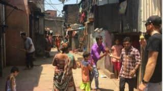 IPL 2016: Martin Guptill plays cricket in a Mumbai slum