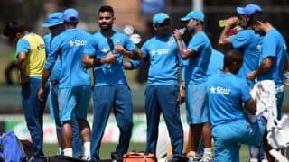 India's two-day warm-up game in South Africa's Tour cancelled