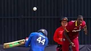 LIVE Cricket Score, Sri Lanka vs West Indies, Tri-Nation Series 2016, 5th ODI at Harare: SL win by 1 run