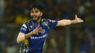 मुंबई इंडियंस के मयंक मर्कंडे बने आईपीएल में चार विकेट निकालने वाले सबसे कम उम्र के तीसरे खिलाड़ी
