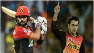 Highlights, IPL 2018, SRH vs RCB, Full Cricket Score and Updates, Match 39 at Hyderabad: SRH win by 5 runs