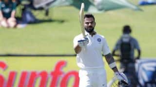 Virat Kohli equals Don Bradman during his 153 vs South Africa at Centurion