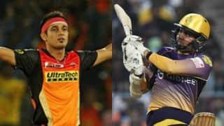 आईपीएल 2018 (प्रिव्यू): अजेय सनराइजर्स हैदराबाद को कड़ी चुनौती देगी कोलकाता नाइट राइडर्स