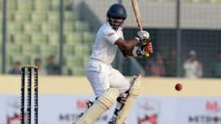 Sri Lanka are 60/0 at stumps on Day 1 of 1st Test against Bangladesh