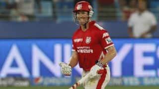 Wriddhiman Saha dismissed in Kings XI Punjab vs Mumbai Indians, IPL 2014