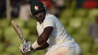 ZIM struggle at 49/4 at lunch against NZ, 1st Test at Bulawayo