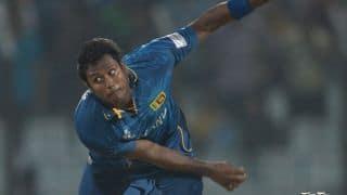 India vs Sri Lanka 2014, 5th ODI at Ranchi: Rohit Sharma bowled by Angelo Mathews