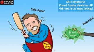 AB de Villiers' IPL Kryptonite