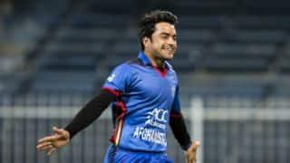 Afghanistan thrash Zimbabwe to go 1-0 up