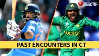 IND-PAK matches from CT: Trip down memory lane