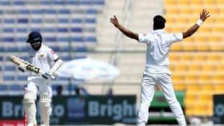Pakistan vs Sri Lanka, 1st Test: Visitors struggling at 61 for 3 at lunch on Day 1