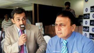Sunil Gavaskar, Rohan Gavaskar share commentary box