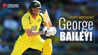Happy birthday, George Bailey: Australian batsman turns 34