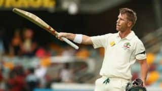 David Warner becomes 3rd cricketer to be awarded unique Australian art prize