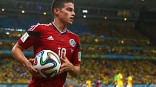 James Rodriguez tops goal-scoring charts