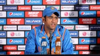 MS Dhoni feels India's loss in 1st ODI vs Australia at Perth could be avoided if spinners bowled better