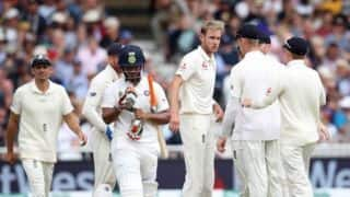 India vs England, 3rd Test, Day 4: Stuart Broad fined for his aggressive send-off to Test debutant Rishabh Pant