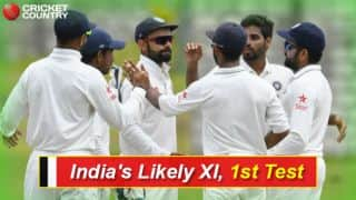 IND vs NZ Squads 2016: IND's Likely XI for 1st Test