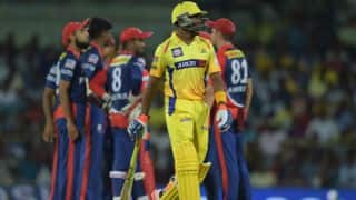 Live Cricket Scorecard IPL 2015, Delhi Daredevils vs Chennai Super Kings, Match 49 at Raipur