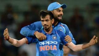 Kohli's ploy of attacking works well for Chahal