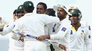 Pakistan vs Australia 1st Test at Dubai: Pakistan wins, Misbah-ul-Haq finally smiles