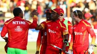 ZIM's 99-9 against IND and other lowest totals after playing out 20 overs