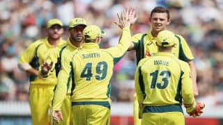 West Indies coach Phil Simmons concedes Australia are favorites to win the tri-series