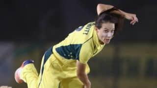 Megan Schutt takes hat-trick; India Women eliminated