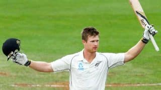 Jimmy Neesham's bat damaged by airport authorities in USA