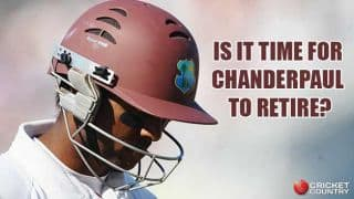 Shivnarine Chanderpaul should call it a day