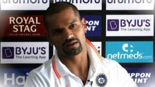 It will be a big final, interesting for both team- Shikhar Dhawan