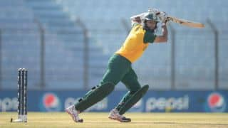 India vs South Africa 2nd semi-final ICC World T20 2014: Hashim Amla, Faf du Plessis steady South Africa