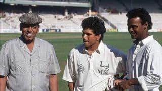 Sachin Tendulkar cherishes one rupee coins he won while training under Ramakant Achrekar